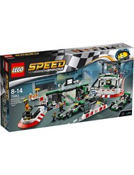 Lego Boys Speed Champions Mercedes Amg Petronas F1 Team Racing Track Set