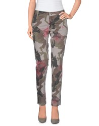 Takeshy Kurosawa Trousers Casual Trousers Women Grey