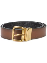 Coach Jeans Cut To Size Belt Brown