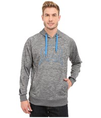 Cinch Pullover Hoodie W Raglan Heathered Gray Men's Sweatshirt