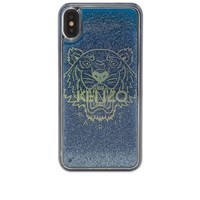 Kenzo Tiger Liquid Iphone Xs Max Case Blue