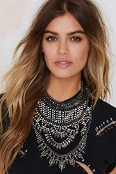 Nasty Gal Jewel Intentions Collar Necklace