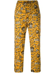 Etoile Isabel Marant 'Alka' Trousers Yellow Orange