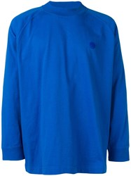 Acne Studios Carp Long Sleeve T Shirt Blue