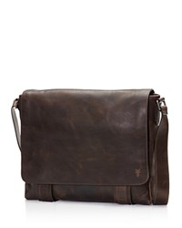 Frye Logan Messenger Bag Slate