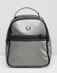 Fred Perry Backpack Metallic Silver