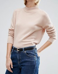 Asos Skinny Western Waist And Hip Belt With Rose Gold Black