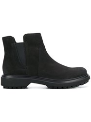 Geox Elasticated Panel Boots Black