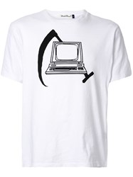 Undercover Printed T Shirt White