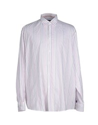 Trussardi Jeans Shirts Shirts Men White