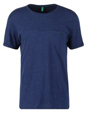 United Colors Of Benetton Print Tshirt Blue