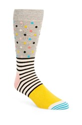 Happy Socks Men's Stripe And Dot