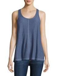 Wilt Striped Trapeze Tank Top China Blue