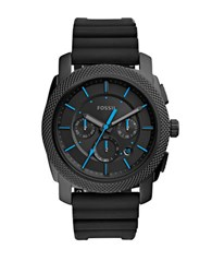 Fossil Casual Textured Bezel Watch