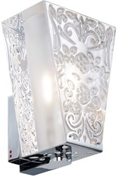 Fabbian Vicky D69 D01 Wall Light Default Silver