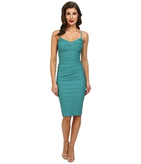 Stop Staring Spagetti Strap Dress Seafoam Green Women's Dress Blue
