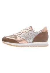 Mjus Clip Trainers Candy Camel Mottled Rose