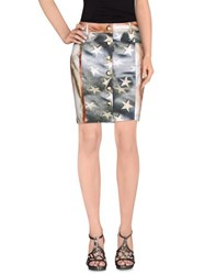 Ean 13 Skirts Mini Skirts Women Grey