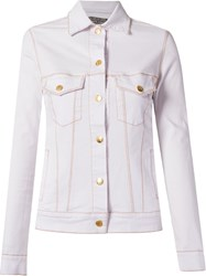 Amapo Slim Jacket White