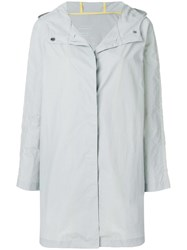 Ecoalf A Line Hooded Coat Grey