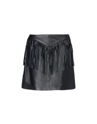 George J. Love Skirts Mini Skirts Women Black