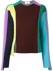 Ports 1961 'Rainbow' Knit Sweater Multicolour