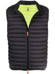 Save The Duck Logo Patch Gilet 60