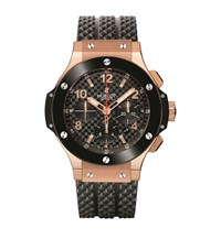 Hublot Big Bang 44Mm Gold Ceramic Watch Unisex Black