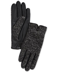 Charter Club Boucle Leather Gloves Only At Macy's