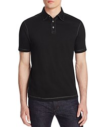 James Campbell Chevron Stripe Classic Fit Polo Shirt Compare At 88 Black
