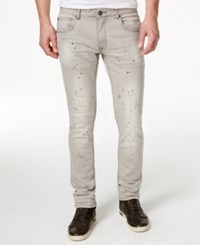 Inc International Concepts Men's Dornan Skinny Jeans Only At Macy's Grey Wash