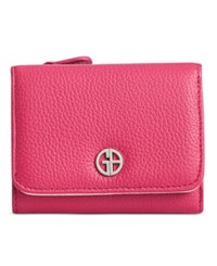 Giani Bernini Colorblock Softy Trifold Wallet Created For Macy's Granita Blush