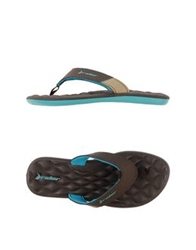 Rider Thong Sandals Dark Brown