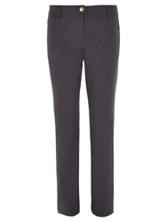 Viyella Straight Leg Smart Jeans Carbon