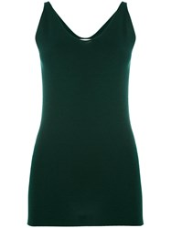 Studio Nicholson Long Tank Top Green