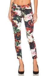 7 For All Mankind The Contour Ankle Skinny Victorian Garden