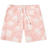 Onia Charles 7 Palm In Wind Swim Short Pink