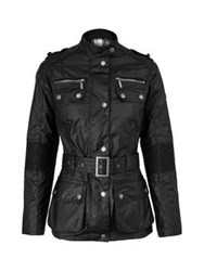 Barbour Chain Wax Jacket Black