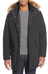 Men's Cole Haan 3 In 1 Jacket With Faux Fur Trim