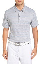 Travis Mathew Men's Kimm Trim Fit Wrinkle Resistant Polo