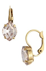 Sorrelli Crystal Drop Earrings Beige