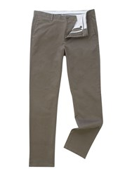 Linea Chelsea Regular Fit Chino Trousers Khaki