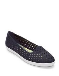Easy Spirit Dexlee Perforated Flats Navy Blue