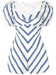 Alice Mccall At Last Playsuit White