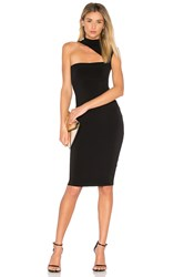 Nookie Charlize High Neck Dress Black