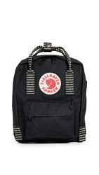 Fjall Raven Fjallraven Kanken Mini Backpack Black Striped