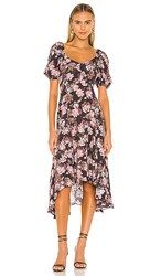 Yumi Kim Gemma Dress In Black Pink. Mystic Garden