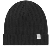 Norse Projects Cashmere Wool Beanie Black