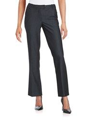 Calvin Klein Petite Straight Leg Dress Pants Indigo