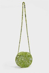 Cult Gaia Luna Acrylic Shoulder Bag Green
